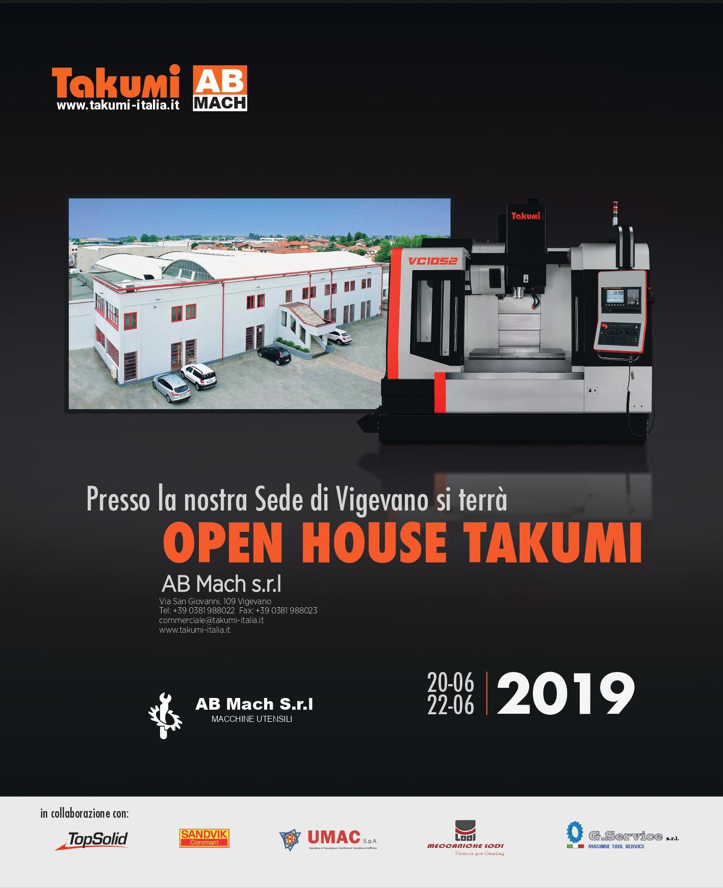 OPEN HOUSE TAKUMI